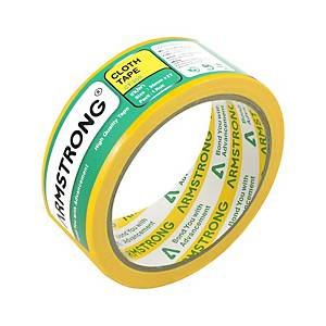 ARMSTRONG Cloth Tape 1.5   X 8 Yards 3   Core Yellow