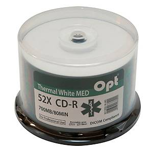 BX50 CD PRINTABLE THERMAL SPINDLE