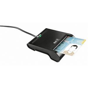 Lector de tarjetas Trust - para DNI y SmartCards - USB 2.0
