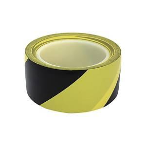 금성 바닥라인테이프 노랑+검정 48mm X 32m