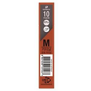 도루코 중형 커터날 M(B날) 12mm 10개입