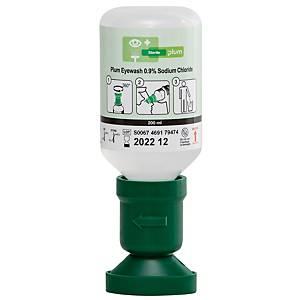 Augenspülflasche mit steriler Natriumchloridlösung Plum 4691, 200 ml, 75x220mm