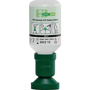 Augenspülflasche Plum 4691, 200 ml steriler Natriumchloridlösung