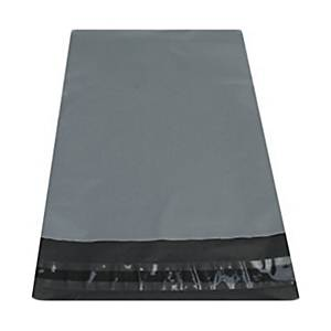 Mailing Bags 400x525mm Grey - Pack Of 500