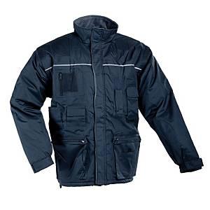 Zateplená nepremokavá bunda ČERVA LIBRA 2 v 1, veľkosť M, modrá