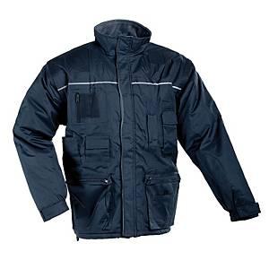 Zateplená nepremokavá bunda ČERVA LIBRA 2 v 1, veľkosť L, modrá