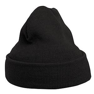 MASCOT KNITTED HAT L BLACK
