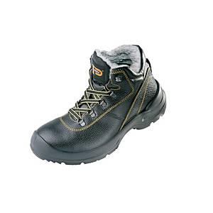 Zateplená členková obuv PANDA ORSETTO, S3 CI SRC, veľkosť 44, čierna