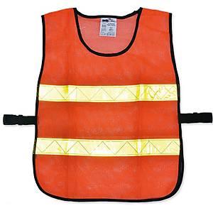 YAMADA เสื้อจราจรตาข่ายทรงยู OR-6045U 60X45 เซนติเมตร ส้ม