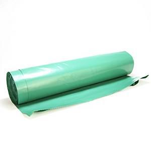 Szemeteszsákok 70 x 110 cm, 110 l, zöld, 25 db
