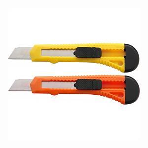 SaKOTA biztonsági kés 18 mm, különböző színek