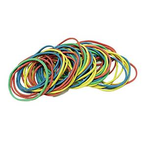 Astar Rubber Bands Assorted Colour 38mm