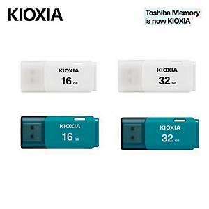 KIOXIA TRANSMEMORY U202 USB2 16GB WHITE