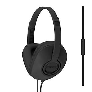 Headset Koss Over-Ear UR23iK, med mikrofon, svart