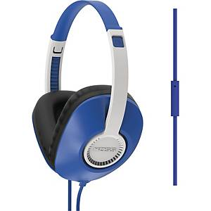 KOSS UR23IB W.MIC HEADPHONES BLUE