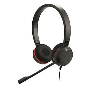 Headset Jabra Evolve 30 II UC Duo, Stereo, USB Kabelgebunden