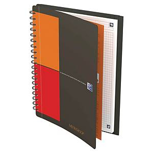 Oxford International Meeting Book notebook, B5 5mm squared