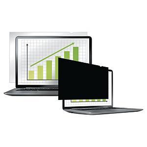 13,3  Fellowes PrivaScreen betekintésvédelmi monitorszűrő, szélesvásznú, 16:9