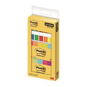 PK7 POST IT 670+683-7 FLAG OFFICEPACK