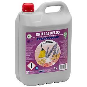 Lava chão La Oca Brillant - 5 L - aroma a lavanda