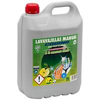 Lavavajillas manual concentrado Codina - 5 L - aroma manzana verde