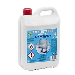 Ambientador para casas de banho e WC profissional Codina - 5 L