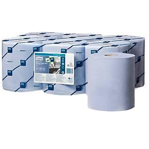 Pack de 6 bobinas Tork Reflex - 150 m - Folha dupla - azul