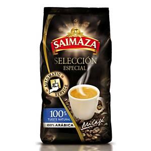 Pacote de café em grão Saimaza - 1 kg - natural