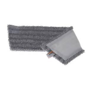 Moppe Unique RV vådmoppe, 48 cm, grå, til 40 cm, pakke a 5 stk.