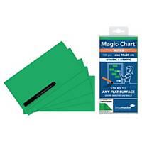 Legamaster Magic Chart Notes, groen, 10 x 20 cm, per 100