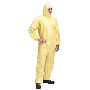 Dupont Tychem C wegwerp overall, maat XXL, geel, per stuk