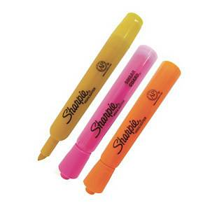 SHARPIE SF25028 ACCENT HIGHLIGHTER YELLOW