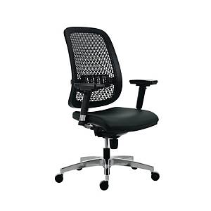 Antares Fusion 1840 D2 irodai szék, fekete