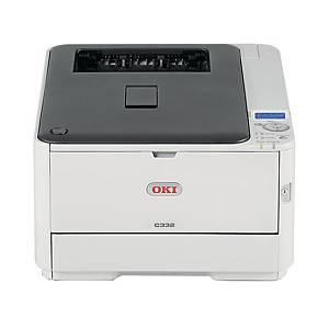 Stampante laser a colori Oki Led C332DNW