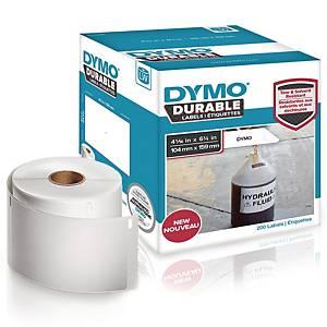 Dymo Durable LW 1933086 kestotarra 104 x 59mm, 1 kpl=200 tarraa