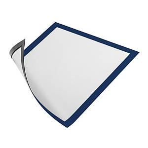 Cornice magnetica con pannello Durable Duraframe® A3 blu - conf. 5
