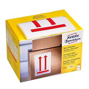 Etikety Avery, 7250,  Touto stranou nahoru , 200 ks/balení
