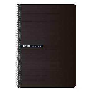 Cuaderno de espiral Enri Status - 4˚ - 100 hojas - cuadriculado