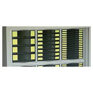 Kit module pour armoire métallique Pierre Henry - 4/8/16 tiroirs - noir