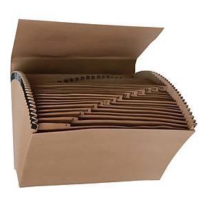 F4 風琴紙質文件袋 1-31(31格)