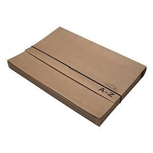 F4 Expanding Paper Wallet A-Z