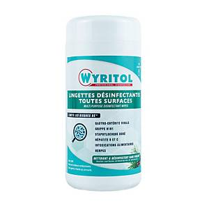 Wyritol Disinfectant Wipes 120 Sheet