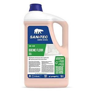 Detergente pavimenti Igenic Floor Sanitec pesca e gelsomino 5 kg