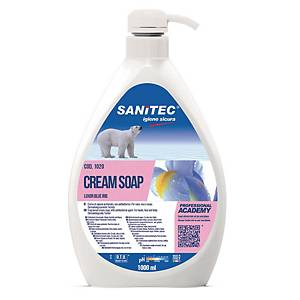 Crema di sapone mani Sanitec Cream Soap Luxor 1 L