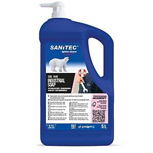 Sanitec ipari kézgél, mikrogranulátummal, 4,7 l
