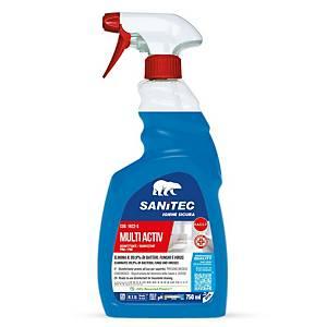 Sgrassatore disinfettante Multi Activ Bagno Sanitec spray 750 ml