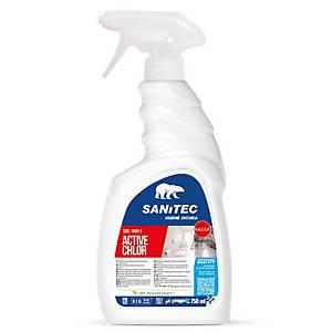 Detergente igienizzante Cloro Gel Sanitec spray 750 ml