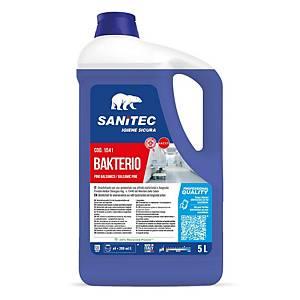 Detergente multiuso disinfettante battericida Sanitec Bakterio 5 L