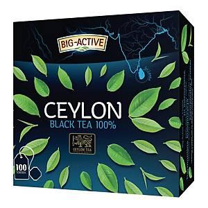 Herbata czarna BIG-ACTIVE Pure Ceylon, 100 torebek