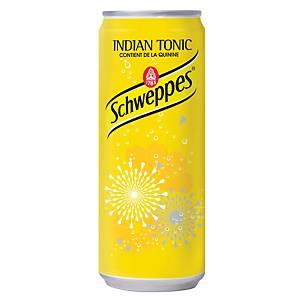 Soda Schweppes Tonic, le paquet de 24 canettes de 33 cl